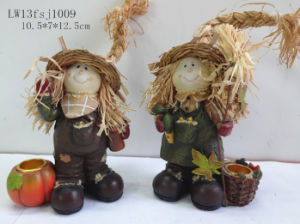 Polyresin Harvest Festival Home Decoration (JN15) pictures & photos