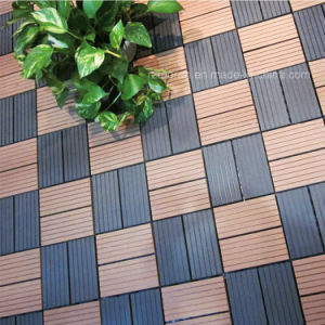 Supply Wood Plastic Composite Decking DIY Tiles pictures & photos