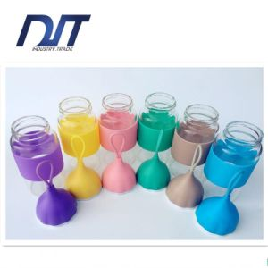 Little Water Drop Glass Portable Silicone Transparent High Boron pictures & photos