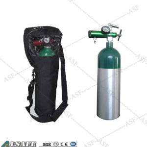 Aluminium Medical D Size Tank Portable Oxygen pictures & photos