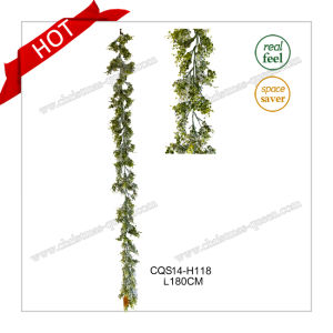 L190cm Christmas Tree Holiday Decoration Artificial Wreath Christmas Garland pictures & photos