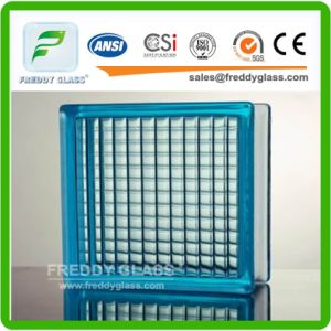 Glass Block Plastic Spacer/Blue, Green, Pink, Yellow, Brown Cloudy, Crystal, Parallel, Cycle Rhombus, Diamond, Diamond, Diagonal, Double Star Brick/Brocks/Brick pictures & photos