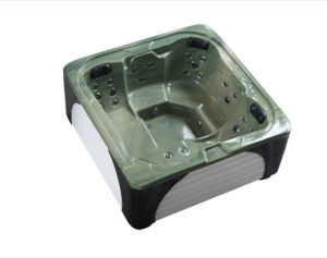 Acrylic 5 Person Use Square Big Massage Tub (M-3382) pictures & photos