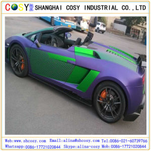 1.52*50m Pretty Car Color Changing Vinyl with High Sticker for Decoration pictures & photos