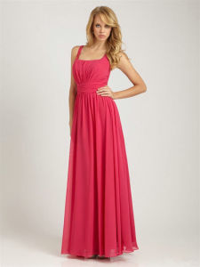 Red Bridesmaid Dress Ogt003b