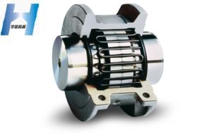 High Transmission Efficiency Keyed Grid Coupling