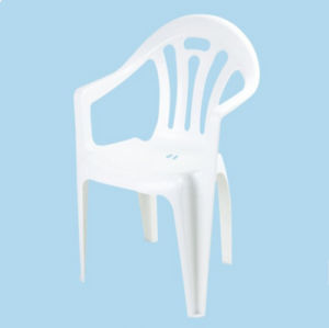 Hot Sale Outdoor White Plastic Garden Chair pictures & photos