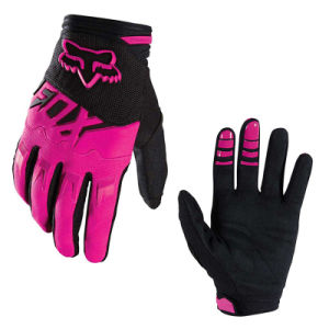 Black&Pink Wear-Proof Motorcycle off-Road Racing Gloves (MAG61) pictures & photos