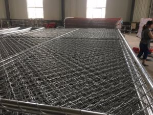 6FT X 10FT Chain Link Temporary Fence Panels pictures & photos