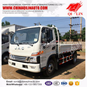 Euro 4 Emission Low Board Truck with 6 Tyres pictures & photos