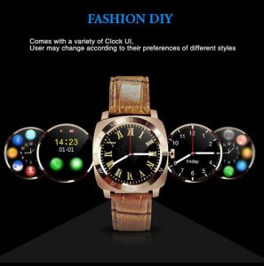 X3 Smart Watch with Android SIM 3G Bluetooth GPS WiFi Heart Rate Stainless Steel Silicon Band 1.3inch TFT Touch Screen Ce pictures & photos