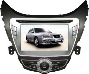 Touch Screen Special Car DVD Player for Hyundai New Elantra with Bluetooth, GPS Navigation (LZT-8741)