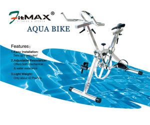 Stainless Underwater Aqua Bike for Swimming Pool Club