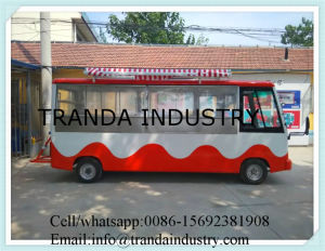 Eco-Friendly Vending Food China Mobile Food Cart for Catering pictures & photos