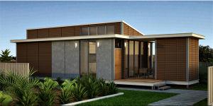 New EPS Cement Sandwich Panel Steel Structure Garage /Workshop (XGZ-185) pictures & photos