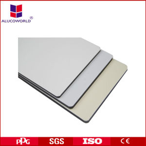 Alucoworld Wall Cladding PVDF Coating Decorative Wallboard Panels pictures & photos