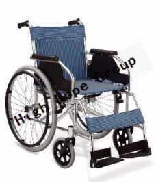 High Hope Medical - Aluminium Alloy Manual Wheelchair-Ky868lj pictures & photos