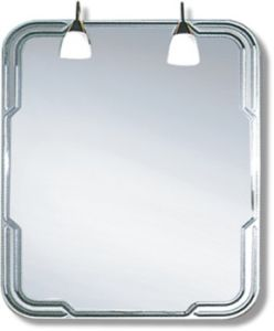 Competitive Decorative Silver Bathroom Mirror (JNA113) pictures & photos