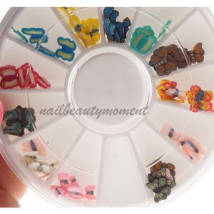 Nail Art Fimo Slices Decoration Accessories in Wheel (D13)