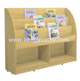 Wholesale Day Care Furniture Bookshelf for Kids