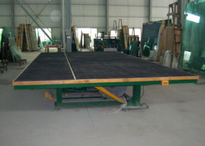 Glass Cutting Table with Breaking and Tilting Glass Breaking Table pictures & photos