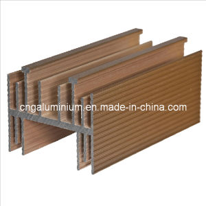 Aluminum Golden Extrusion Profile pictures & photos