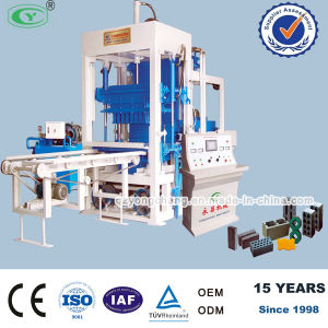 Automatic Concrete Interlocking Block Making Machine (QT4-15)
