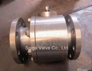 2PC API Forged Steel Ball Valve pictures & photos