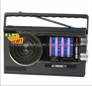 FM/AM/SW1-3 5 Band Radio Receiver MP3 Player (BW-5400U)