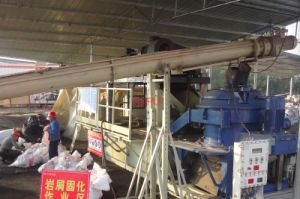 Incline Screw Conveyor for Waste Feeding in Sludge Treatment pictures & photos