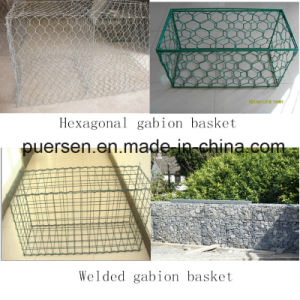 Hot Dipped Galvanized Gabion Basket Sizes pictures & photos