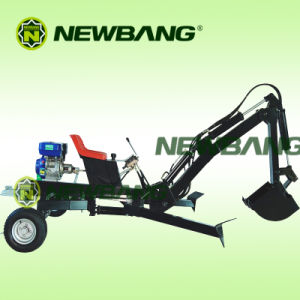 Lw-6 Gasoline Loader Backhoe with 9HP Engine pictures & photos