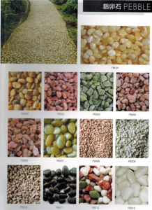 Multi Natural Stone Pebbles and Cobbles for Landscape pictures & photos