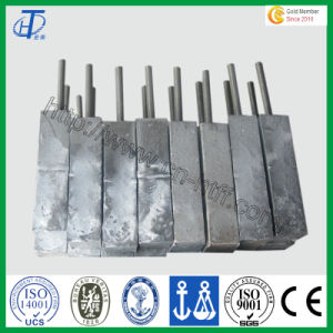 Hot Sale Zinc Sacrificial Anodes for Ocean Engineering pictures & photos