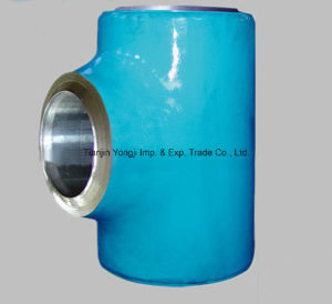 Welding Alloy Steel Pipes Fittings Tee pictures & photos
