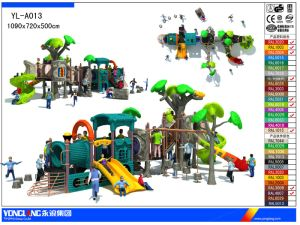 New Plastic Children Outdoor Playground Factory Sale with Discount (YL-A013) pictures & photos