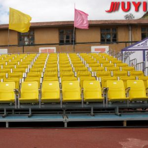 Jy-716 Best Plastic Tip-up Gym Telescopic Seating System Retractable Bleacher Seats pictures & photos