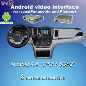 Android 3G Network GPS WiFi Navigation for Toyota Gvif Rx/Is/Es pictures & photos