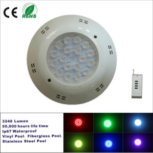 18X1w RGB LED Wall Recessed Underwater Lighting pictures & photos