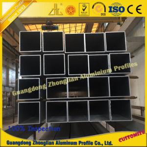 China Aluminum Manufacturs Supplies Stocked Aluminum Square Tube pictures & photos