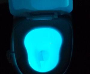 Toilet Sensor Light Eight Color pictures & photos