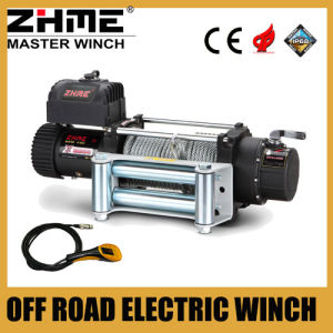 Heavy Duty 9500lbs 12V Powered Electric Winch with Wire Rope pictures & photos