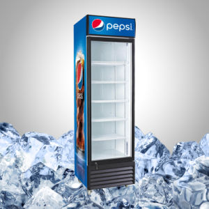 Upright Display Chiller for Drinks pictures & photos