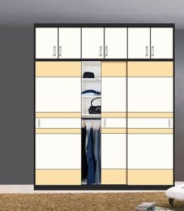 Wooden Slding Door Wardrobe Furniture (factory price directly) pictures & photos