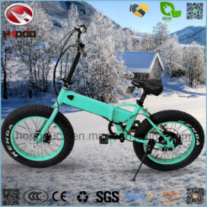 Alloy Frame 250W 20inch Kenda Fat Tire Electric Folding Bike pictures & photos