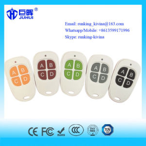 4 Buttons Plastic Box Remote Control Duplicator Face to Face 433.92MHz pictures & photos