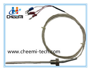 Low Cost OEM K Type Thermocouple Probe Temperature Sensor for Industrial pictures & photos