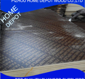 Poplar Core Film Faced Plywood for Concrete Formwork pictures & photos