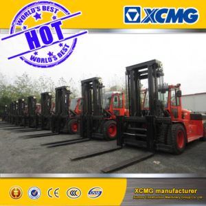 XCMG 8 Ton Heli Diesel Forklift with Isuzu Engine Cpcd80 pictures & photos