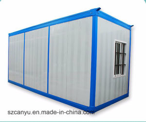 40 Feet Steel Structure Steel Framing Prefabricated Container House pictures & photos